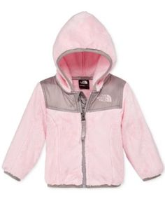 Layer on rugged and durable sweetness for her outings with this plush fleece zip-up hoodie by The North Face. Little Girl Outfits, Toddler Girl Outfits, Kids Outfits, Princesa Sophia, My Baby Girl, Baby Girls, Baby Bling, Baby Coat, Baby Dress
