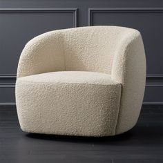 Gwyneth Boucle Chair + Reviews | CB2
