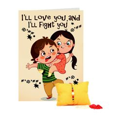 Greeting Card For Bro n Rakhi