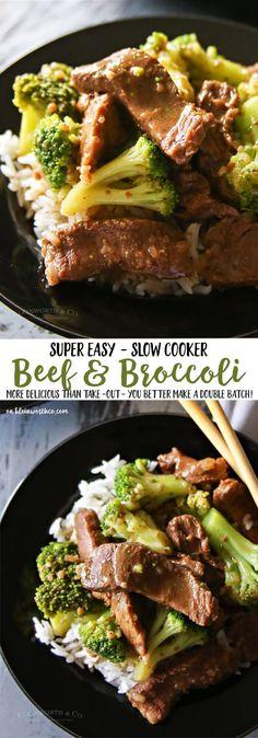 Slow Cooker Beef & B