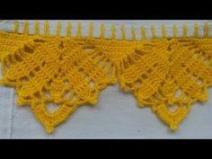 Crochet Boarders, Crochet Edging Patterns, Crochet Lace Edging, Filet Crochet, Crochet Designs, Crochet Doilies, Crochet Flowers, Stitch Patterns, Cotton Crochet