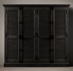 Shutter Style Cabinets  Perfect For Shoe Storage. From Restoration  Hardware! | Shoe Storage | Pinterest | Restoration Hardware, Restoration  And Hardware