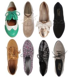 oxford heels | Blog by Lou.: Obsesion: Zapatos OXFORD