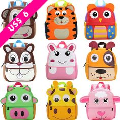 Animal Backpacks for Toddler Boys & Girls – Bitsy Bug Boutique Material: CottonGender: Boys GirlsFeatures: Stuffed & PlushSummary: Toddler Backpack Kindergarten Schoolbag Cartoon Animal Bag. Toddler School, School Bags For Kids, Kids Bags, Toddler Boys, Kids Girls, Baby Kids, Animal Backpacks, Boys Backpacks, School Backpacks