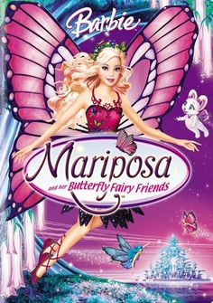 Everyone's favorite doll, Barbie, journeys to the world of the Butterfly Fairies in this animated extravaganza. Mariposa is a beautiful girl who lives in the enchanting land of Flutterfield, a safe ha