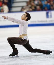 スケートカナダ 織田信成(下) [フィギュアスケート企画] - 大阪日日新聞