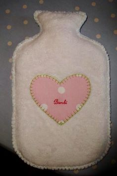 Hot Water Bottle Cover made years ago for my Bambi ❤