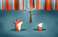 illustration: f is for fox