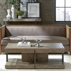 Riverside 47302 Gavin Rectangle Coffee Table available at Hickory Park Furniture Galleries