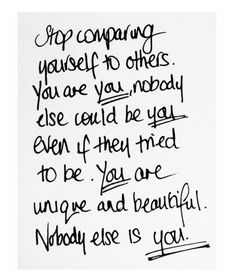 You are unique and beautiful; nobody else is you  . . . #resultswithlucy #result...... You are unique and beautiful; nobody else is you ✨ . . . #resultswithlucy #resultswithcecilia #rwl #rwlfitties #weightloss #weightlosstransformation #weightlossjourney #motivation #weightlossmotivation #fitnessaddict #fitnessworkout #workout #workinprogress #fitfam #fitfamuk #healthymind......http://bit.ly/2p2E9t2