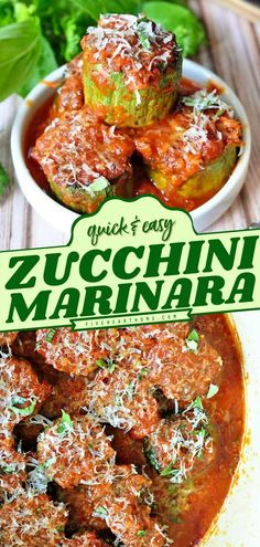 A few ingredients are all you need for this quick and easy zucchini recipe! Topped with fresh herbs and Parmesan cheese, this sautéed Zucchini Marinara makes a delicious side dish. Such a perfect… Easy Zucchini Recipes, Easy Asian Recipes, Side Dish Recipes, Easy Healthy Recipes, Easy Dinner Recipes, Real Food Recipes, Easy Meals, Healthy Zucchini, Cheap Recipes