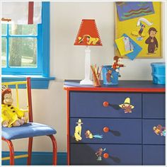 Attractive Curious George Baby Room | Colorfulchildhoodstore.com Paint Dresser These  Colors?