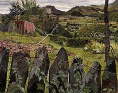 Landscape in North Wales  Stanley Spencer