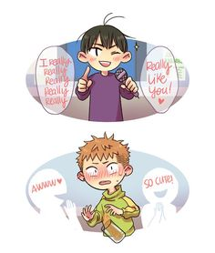 19 Days Anime, 19 Days Manga Español, Gay Comics, Anime Comics, Chibi, I Love My Son, Cartoon Crossovers, Shounen Ai, Manhwa Manga