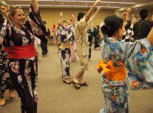 Practice Bon dance and summer fest