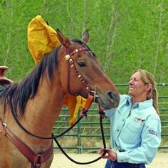 Spook proof -- You and your horse have some obstacles to overcome before you hit the trail this year.