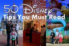 The BEST list of advice for visiting the park and staying at a Disney resort. What to do, what to pack, where to go and more!
