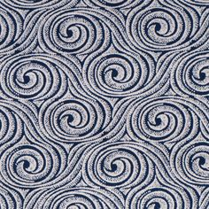 South African indigo fabric: 'swirl indigo'