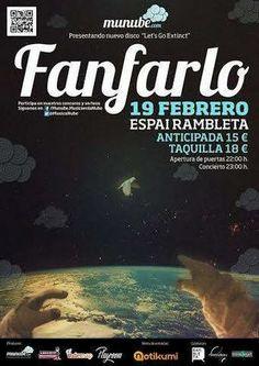 Entradas para Fanfarlo en Valencia el 19 de febrero 2014 en notikumi