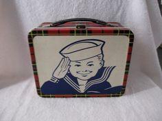 1964 -CrackerJack lunch box!