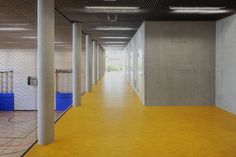 Michael-Ende-Schule, Frankfurt Foto Oliver Rieger Frankfurt, Visual Communication, Signage, Architecture, Room, Home Decor, School, Projects, Arquitetura