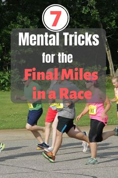 Get mental running tips to get you through the last miles of a race, so you're ready to start using them when the going gets tough. Running Training Programs, Running Schedule, Training Plan, Running Workouts, Running Tips, Training Equipment, First Marathon, Half Marathon Training, Marathon Running