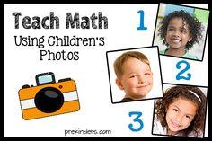 Teach Math with Children's Photos