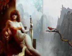 THE UNDEAD QUEEN / THE BIRD Bastien Lecouffe Deharme