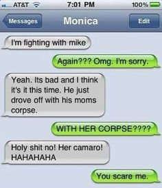 She's dead serious. | 35 Of The Most Concerning Autocorrect Fails Of All Time