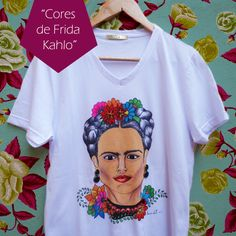 T-SHIRTS JÉSSICA LEITTE | FRIDA KAHLO INSPIRED @jessicaleitteoficial