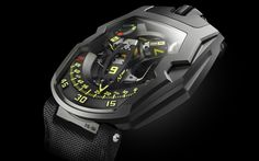 Socially Conveyed via WeLikedThis.co.uk - The UK's Finest Products -   The Urwerk UR-210Y Black Hawk http://welikedthis.co.uk/?p=1335