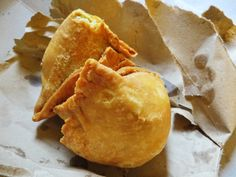 Best snack in India - samosa!