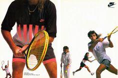 Nike Air Tech Challenge II Ad (1990)