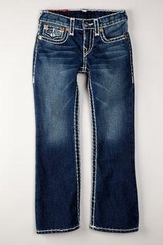 True Religion Kid's billy Super T bootcut Jeans