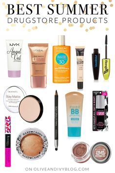 Some of the best summer drugstore products for 2015! | oliveandivyblog.com