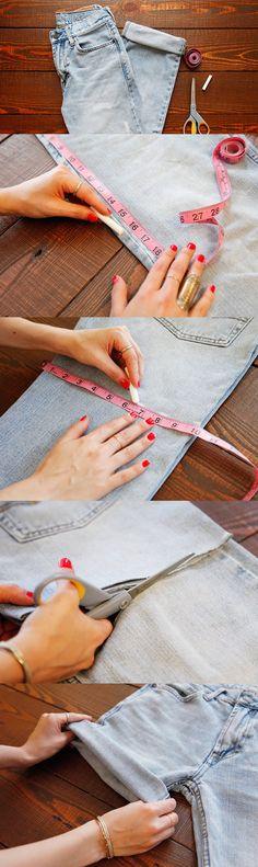 Como Cortar uma Calça Jeans Para Fazer um Short – Dicas Para não Errar!