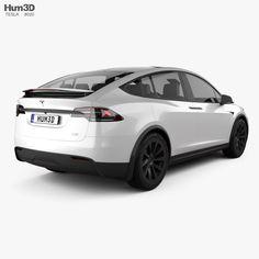 Tesla Model X 2021 3d model Car 3d Model, Stl File Format, Tesla Model X, Uv Mapping, Car Engine, Plaid, Models, Gingham, Templates