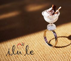 Hey, I found this really awesome Etsy listing at https://www.etsy.com/listing/192765066/ring-miniature-polymer-clay-ring-ice