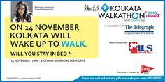 ILS Hospitals is the official healthcare partner of Kolkata #Walkathon on World Diabetes Day. Take the first step towards overcoming diabetes by walking up to Walk! #WorldDiabetesDay