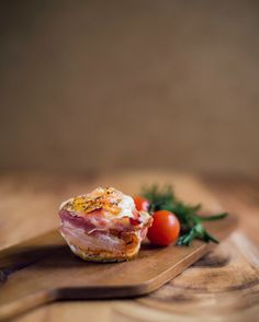 Looking for an easy breakfast on the go? Try making breakfast cupcakes! Line bacon as the cupcake shell and crack an egg in the middle. Remember to season!