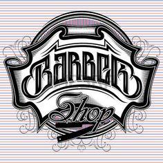 10 amazing barber logo