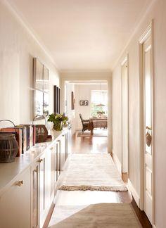 Recibidores y pasillos: buenas ideas para decorarlos y aprovecharlos