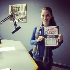 Sophia (one of our awesome Teen Council members!) lent her voice to an up-and-coming Voices & Vibes ad! And, like a pro, she got it done in just 3 takes! #artsvibe www.artsvibe.com