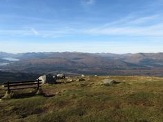 View from the Nevis Range, Scotland 2011.