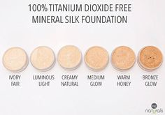 The Best organic mineral makeup foundation kit available. It contains loose mineral powder foundation, organic liquid foundation perfect for sensitive skin ...