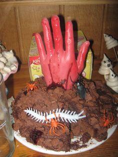 Idées de gâteau d'anniversaire zombie