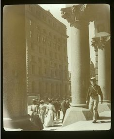 Martin Place and the Arcade of G. in Sydney (year unknown). Grey Wallpaper Iphone, Sydney City, Ancient Architecture, Sydney Australia, Historical Photos, Ancestry, East Coast, Old Photos, Granite