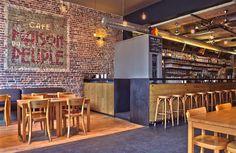 "Maison du Peuple Super Causual Cafe / Bar in a ""hipster"" neighborhood 39 Parvis de Saint-Gilles 1060 Bruxelles"