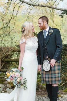 The Prettiest Spring Barn Pastels Wedding