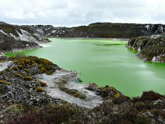 Clay Pit near St Austell, Cornwall China Clay, Cornwall, Places To See, England, River, Outdoor, Outdoors, Outdoor Games, English